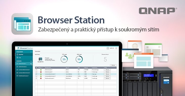 QNAP Browser Station