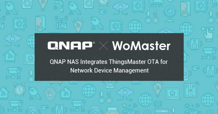 QNAP integruje ThingsMaster OTA od WoMaster